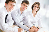 Business people at office — Stock Photo