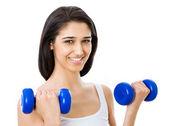 Portret van fitness vrouw — Stockfoto