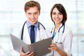 Médecins souriants — Photo