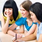 Female students — Stock Photo #44824851