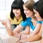 Female students — Stock Photo #44824867