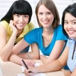 Female students — Stock Photo #44824897