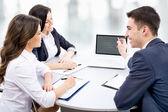 Business people at meeting — Foto de Stock