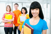 Young teenager students — Stock Photo