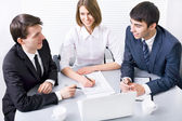 Business people at meeting — Stock Photo