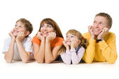 Harmonious family — Stock Photo