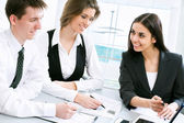 Successful business partners — Stock Photo