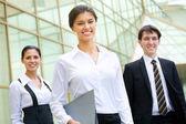 Młodych przedsiębiorców — Zdjęcie stockowe
