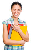 Young student woman — Stock Photo
