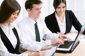 People at the office — Stock Photo