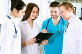 Team van artsen — Stockfoto