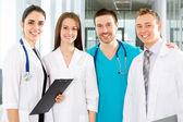Lachende artsen — Stockfoto