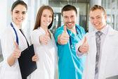 Team of doctors — Stock Photo
