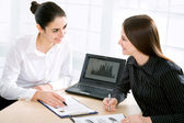 在会议的女企业家 — 图库照片