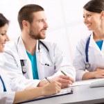 Smiling doctors — Stock Photo #44882447