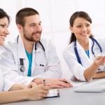 Smiling doctors — Stock Photo #44882453