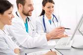 Lékařský tým — Stock fotografie
