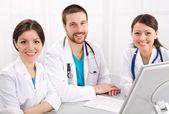 Usměvaví lékaři — Stock fotografie