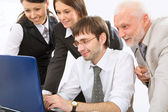 Modern business people — Stockfoto