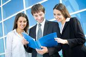 Businessteam — Stockfoto
