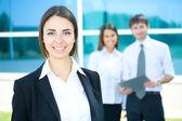 Biznes kobieta — Zdjęcie stockowe