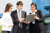 Young business people — Foto Stock