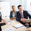 Businesspeople at meeting — Stock Photo #45068493