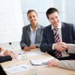 Businesspeople at meeting — Stock Photo #45068497