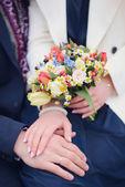 Détails de mariage — Photo