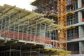 High-rise building under construction. — Foto de Stock