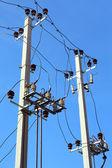 Tower of a high voltage — ストック写真