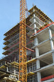 High-rise building under construction. — Stock Photo