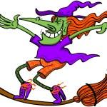 Постер, плакат: Crazy witch