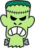 Evil Frankenstein — Stock Vector