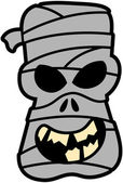 Frightening mummy — Stockvektor