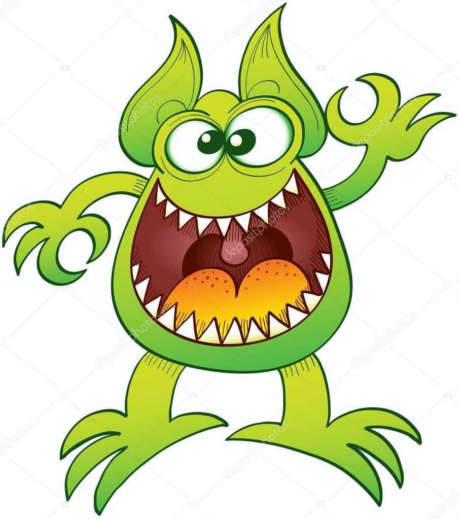 Рисунки монстров чудовищ