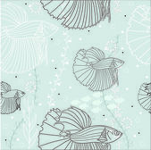 Tropikalne ryby — Wektor stockowy