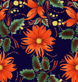 Decorative stylized flower — Stock Vector