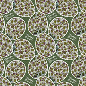 Easter seamless pattern — Stock Photo