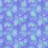 Leaves seamless pattern — Stock Photo