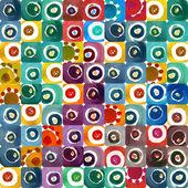 Circles seamless pattern — Stock Photo