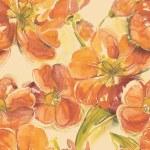 Red tulips seamless pattern — Stock Photo #45956653