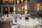Classic ambient for banqueting — Stock Photo