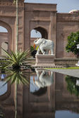 Indian gardens — Stock Photo