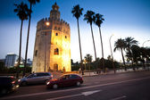 Gold Tower Seville — Stock Photo