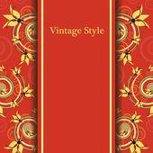 Vintage stil — Stockvektor