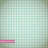 Vintage Checked Pattern — Stock Vector