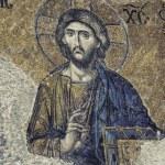 Jesus Christ Mosaic Closeup — Stock Photo #47672959