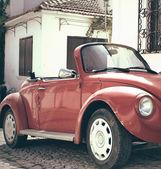 カブトムシの古典的な車 — ストック写真