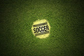 Soccer football penalty — Stock Photo